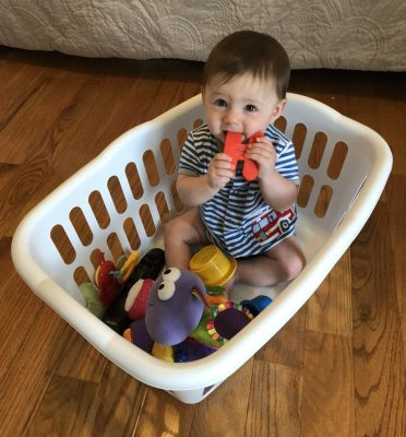 Common household items are the easiest and simplest way to keep your baby or toddler entertained for hours. No need for fancy toys with these household activities. Save your money and give your babies things that they can find throughout the house everyday, that's what they want anyway!