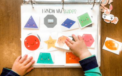 How to Make a Busy Binder for Toddlers and Preschoolers