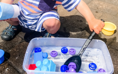 Toy Water Scoop Sensory Bin