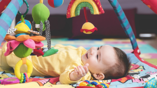 Developmental Baby Activities for 3 to 4 Month Olds for Fun and Stimulation