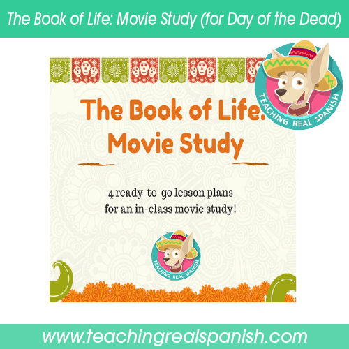 The Book of Life: Movie Study (for Day of the Dead)