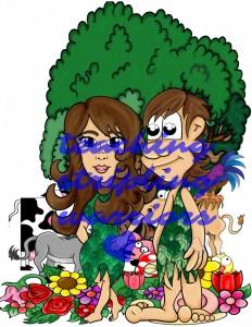 garden of eden adam and eve wm