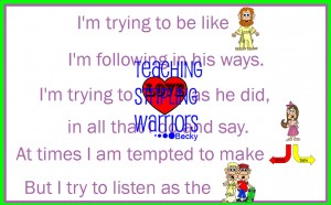 im trying to be like jesus wm