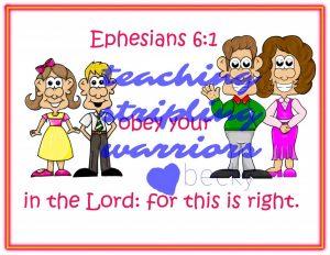 Ephesians 6 1 wm