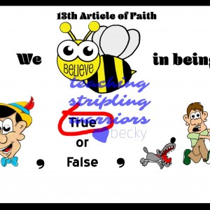 13th article of faith first part wm