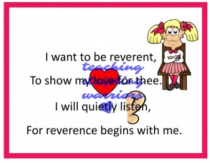 I Want to Be Reverent wm