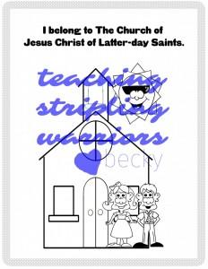 I belong to The Church of Jesus Christ of Latterday Saints wm