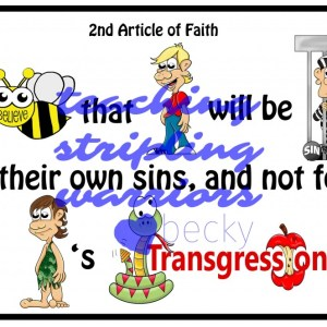 2nd article of faith wm