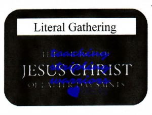 literal gathering wm