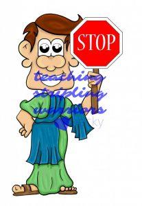 apostle stop sign wm