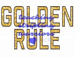 golden rule WM