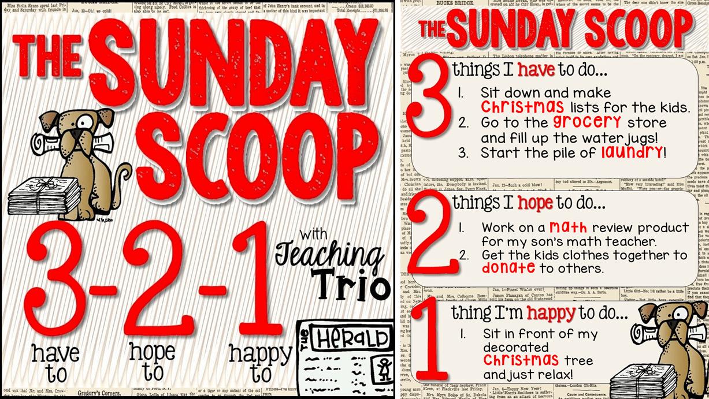 The Sunday Scoop