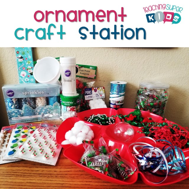Ornament Craft Station