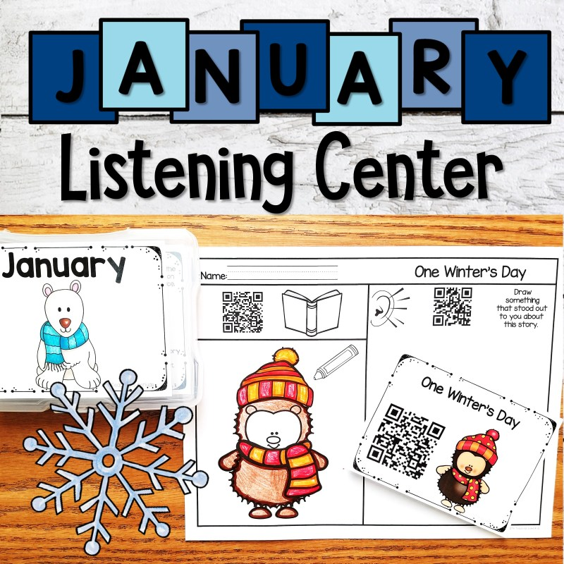 Winter Themed Read Alouds