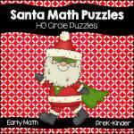 Santa Math Puzzles