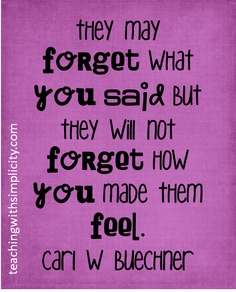 never forget how you made