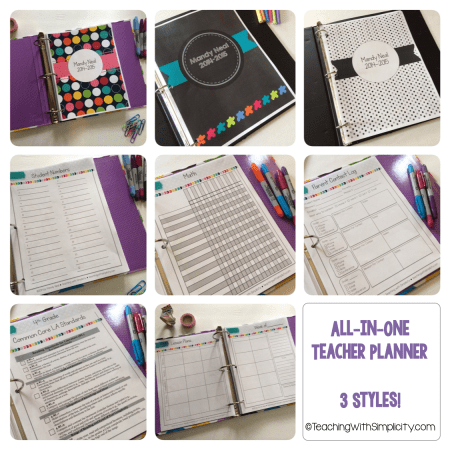 All in One Teacher Planner Collage2