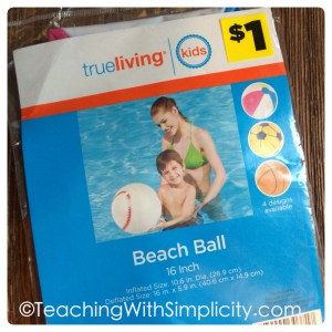 Beach Ball Prefixes and Suffixes