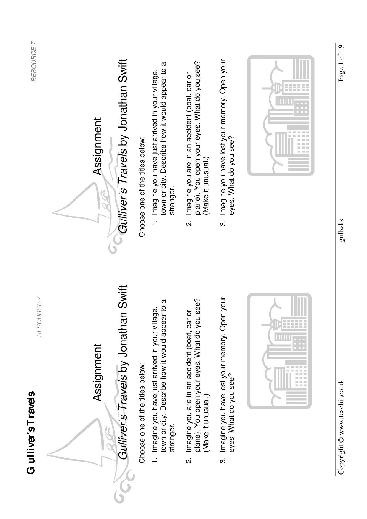 A Range Of Well Designed Worksheets