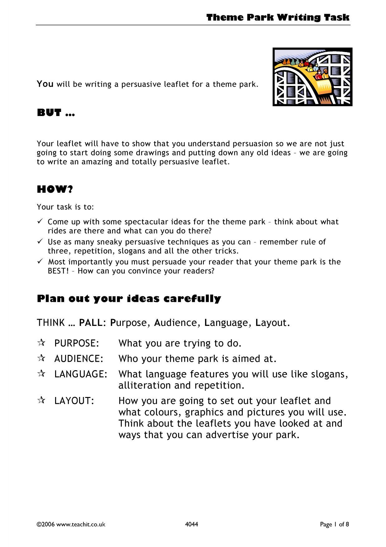 Ks3 English Worksheets