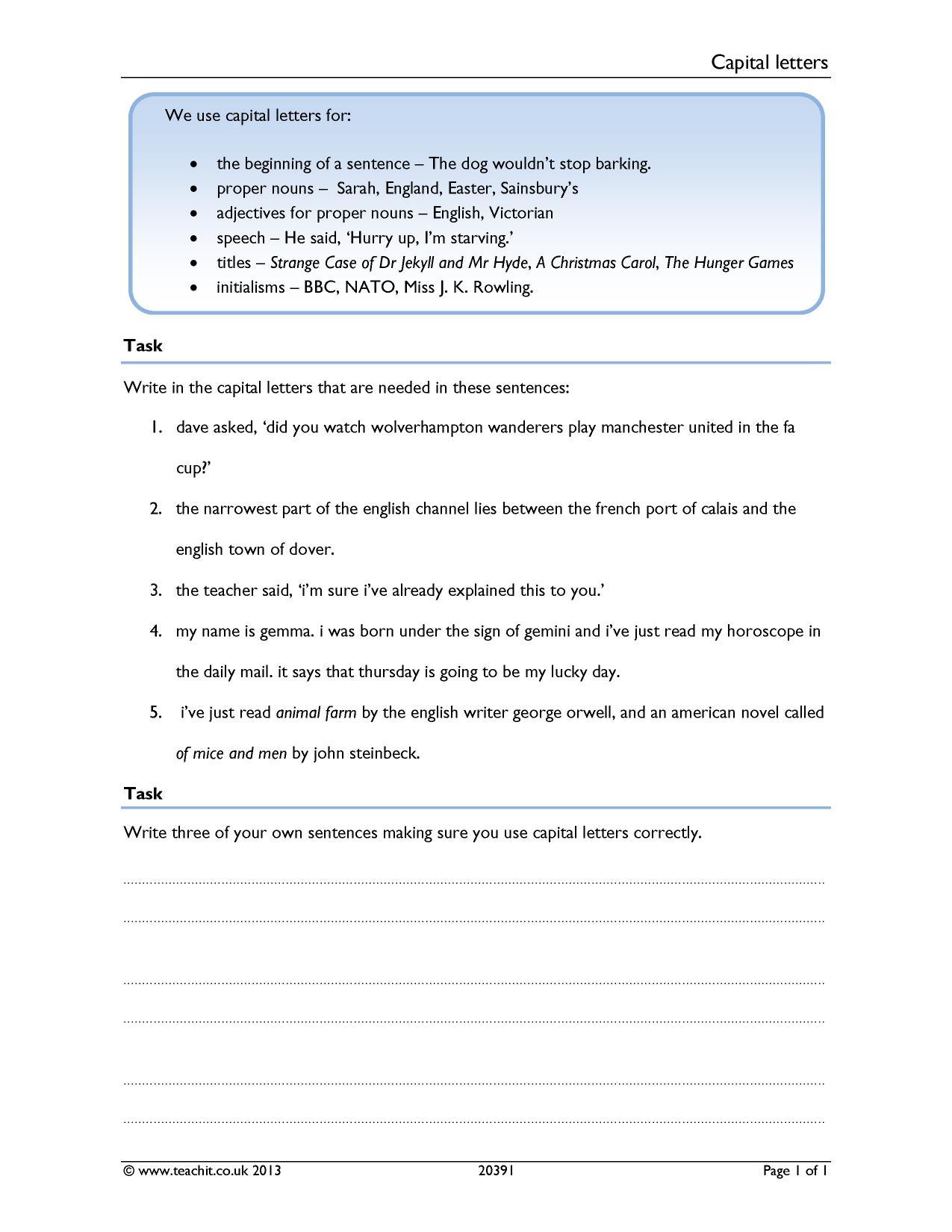 Ks3 Grammar And Vocabulary