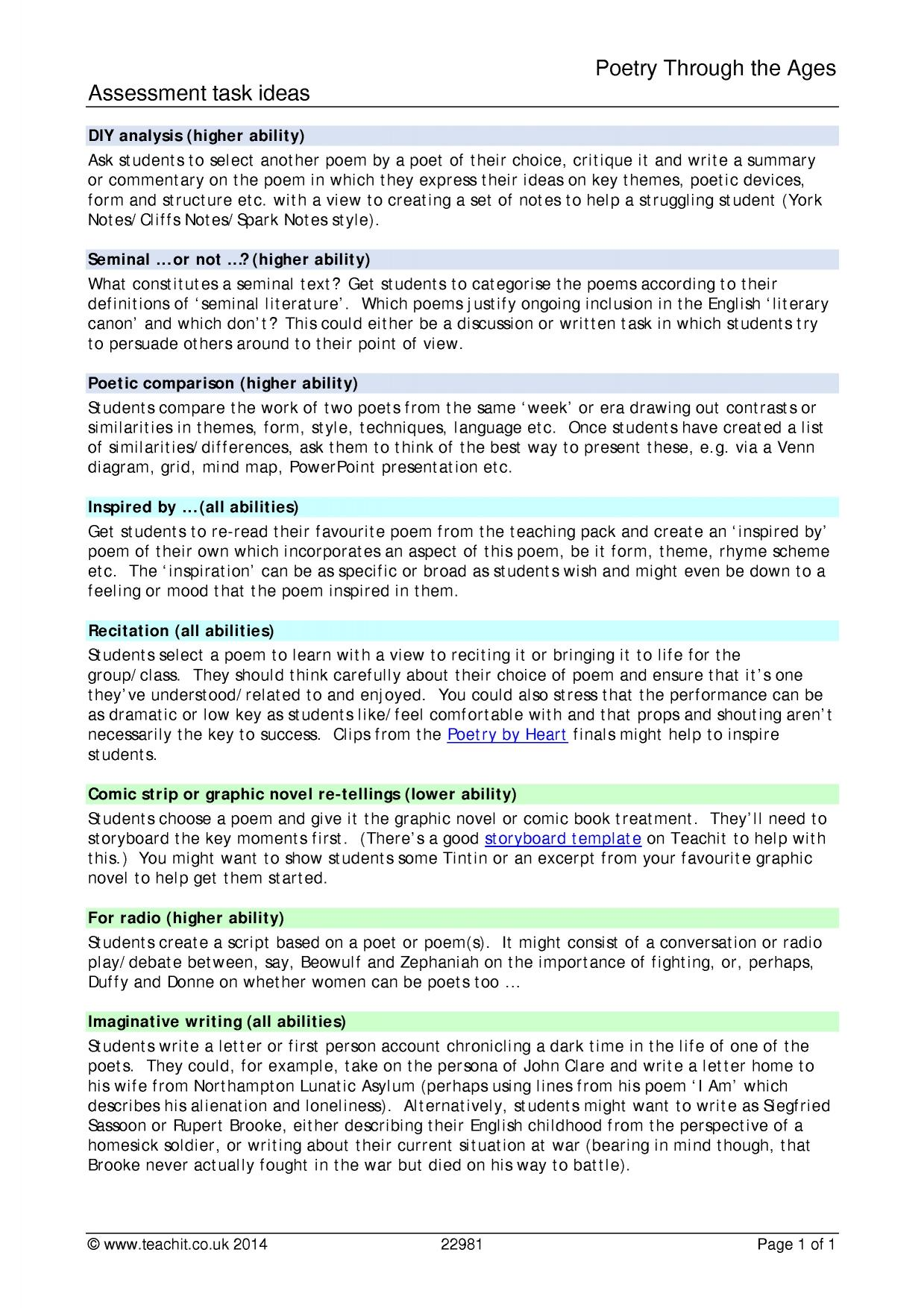Using Quotations In An Essay Worksheet