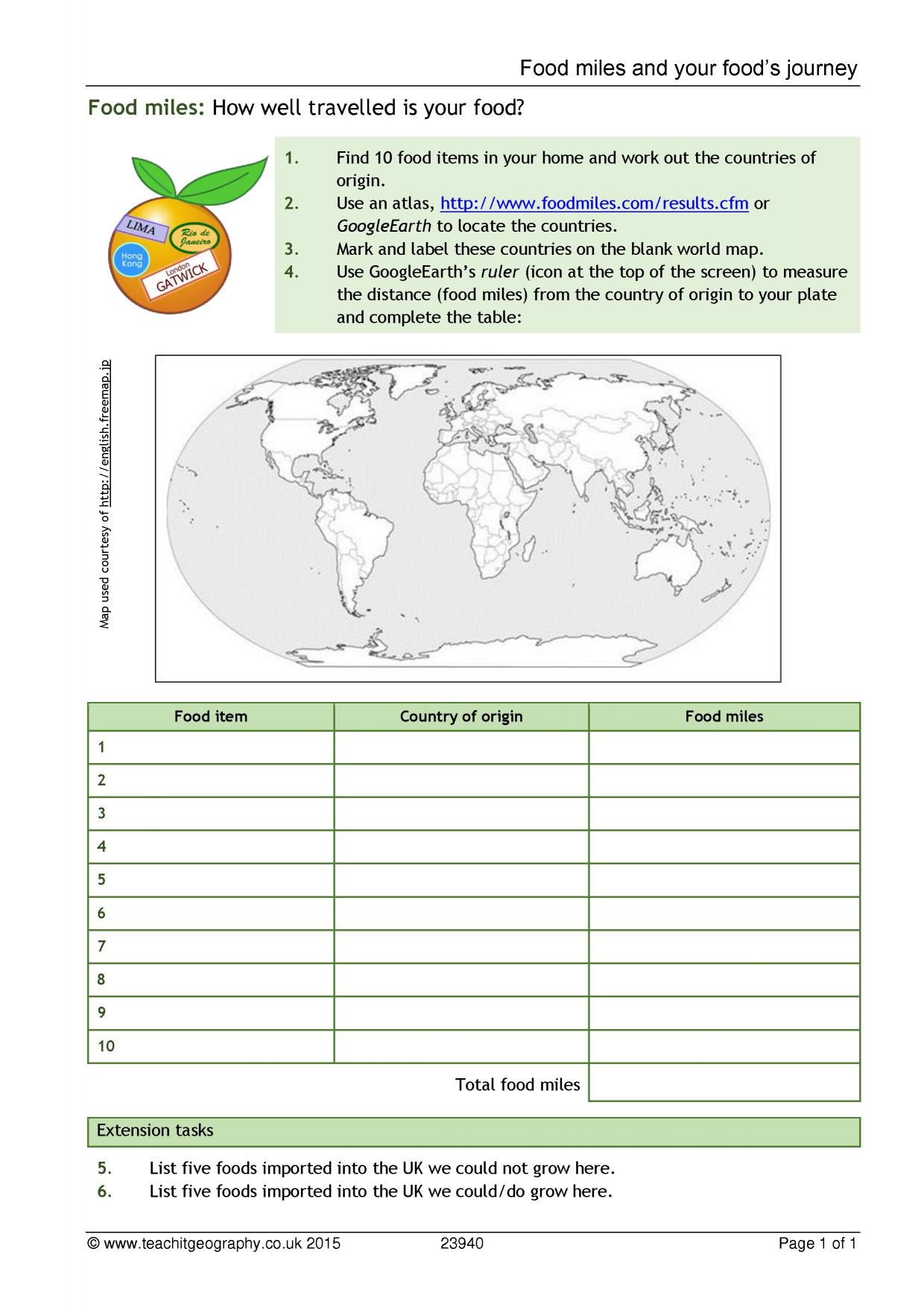 Worksheet On Volcanoes Ks3
