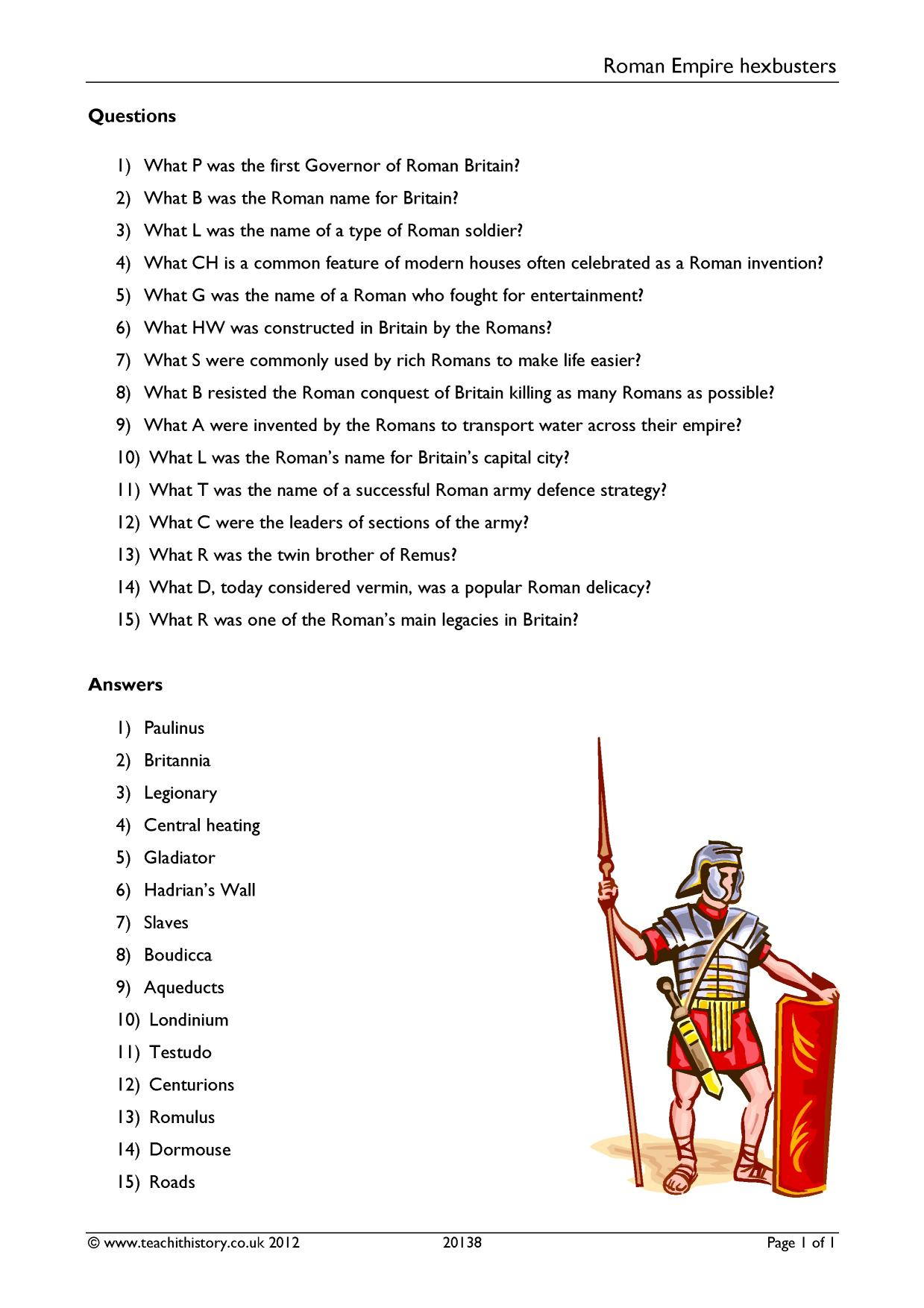 Ks3 Ancient World History Teaching Resources