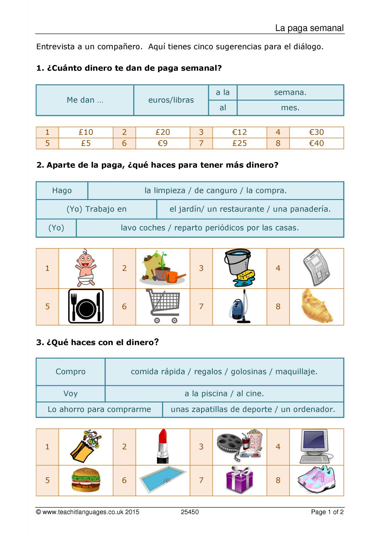 Latest Spanish Teaching Resources