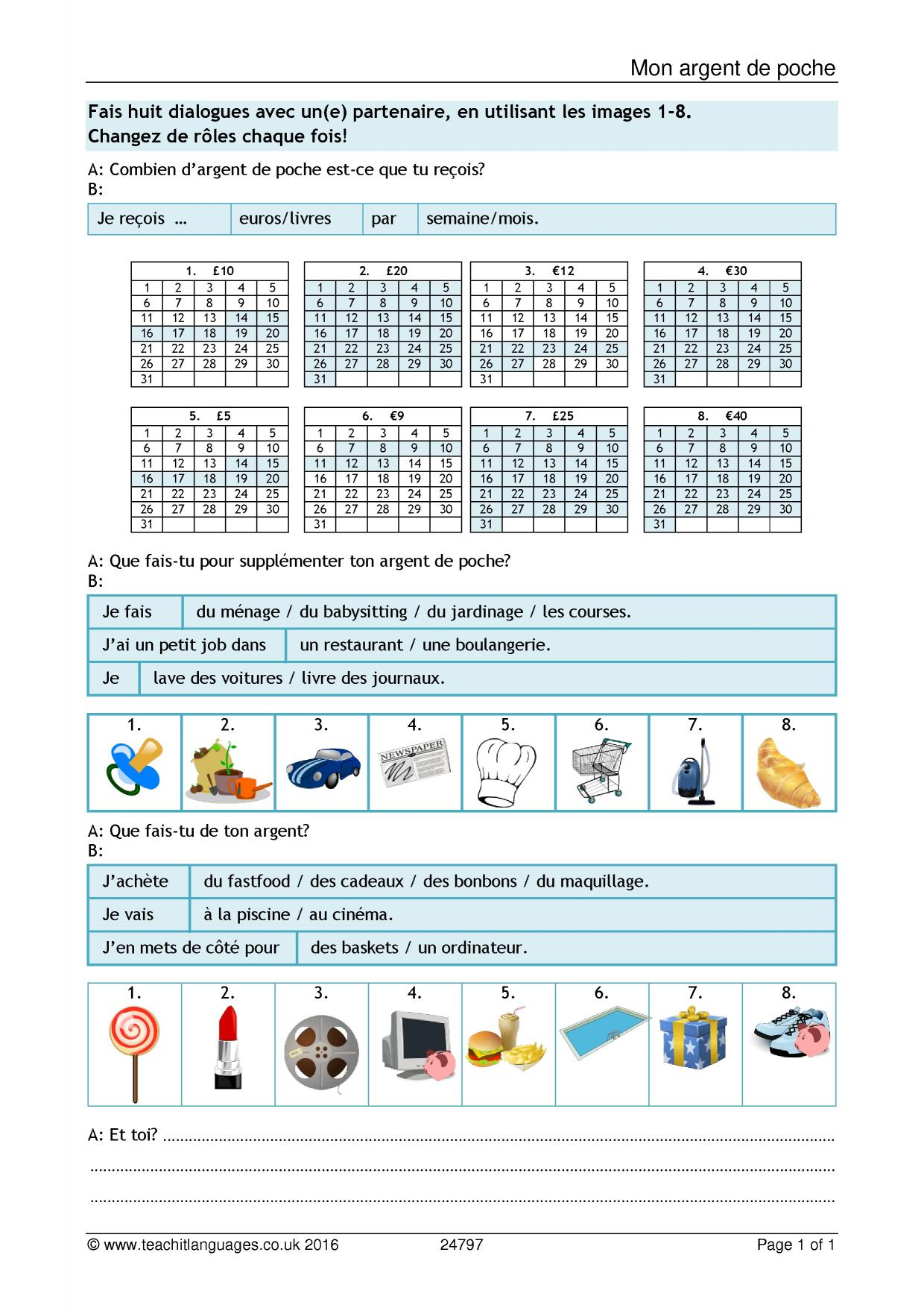 Latest French Teaching Resources