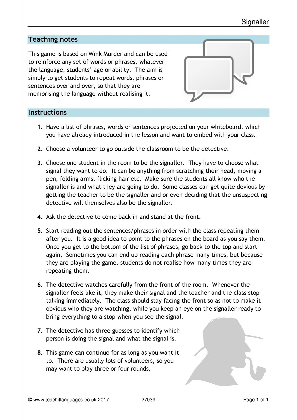 Free Esl Mystery Worksheets Detective Worksheet Answers Science A1 Free Best Free Printable