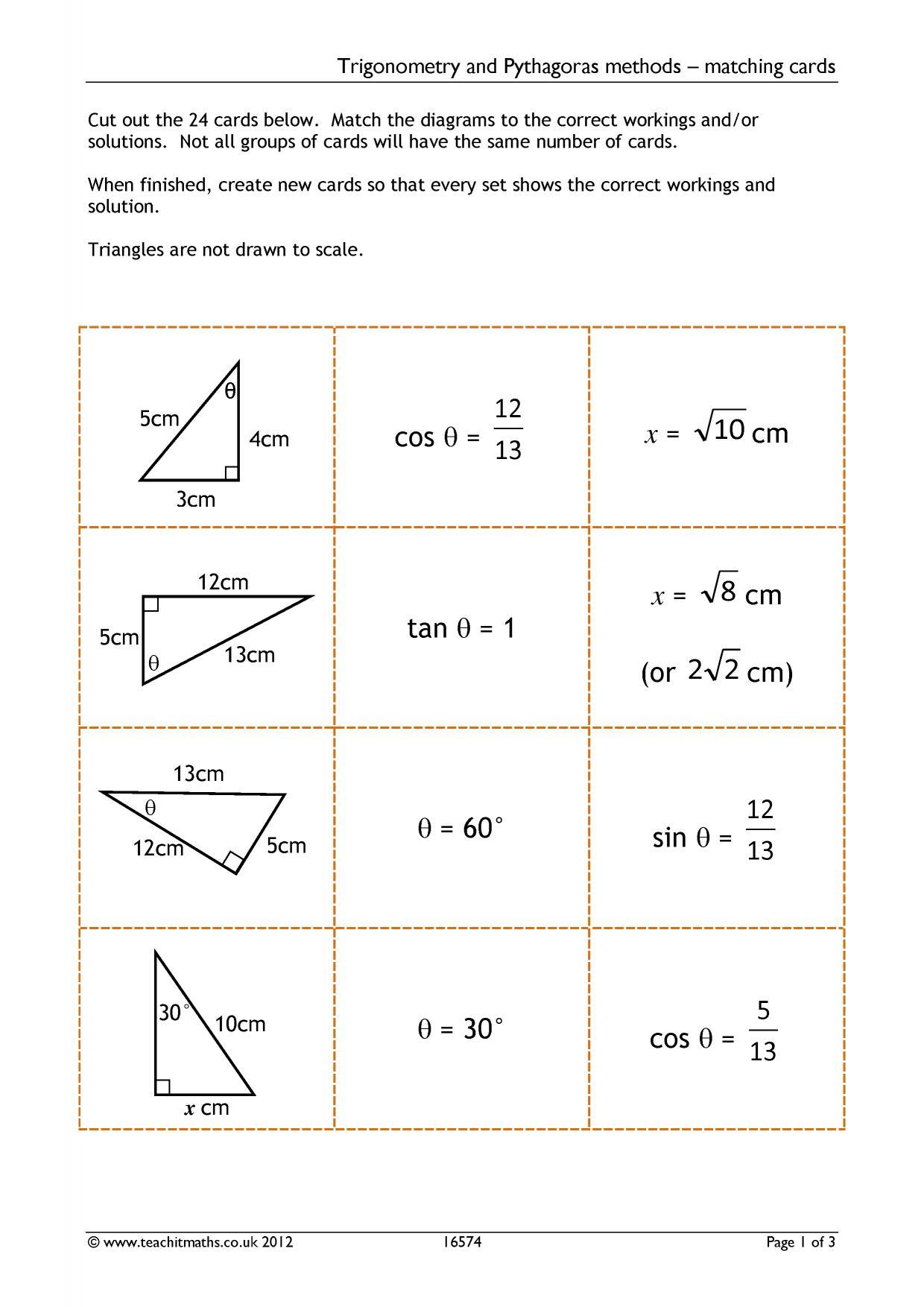 Ks4 Geometry And Measure