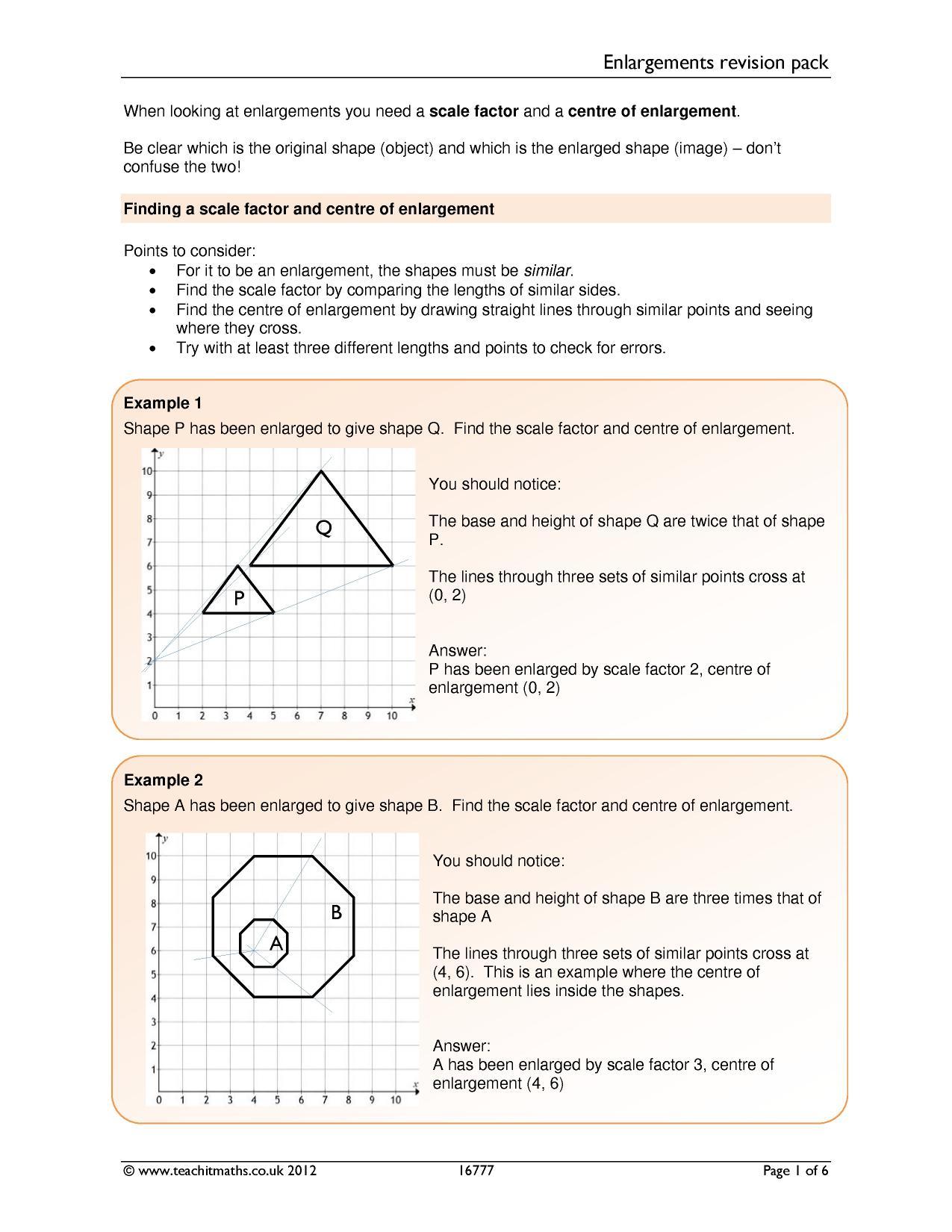 Sketching Quadratic Functions Worksheet