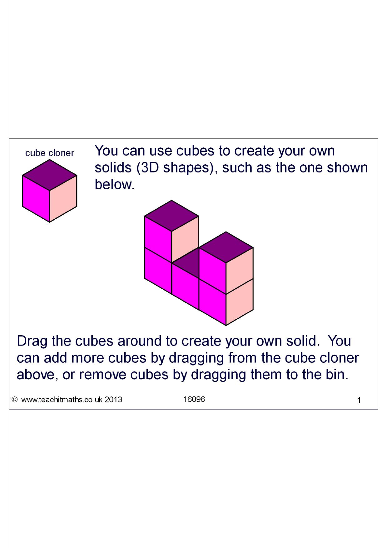 Volume By Counting Cubes