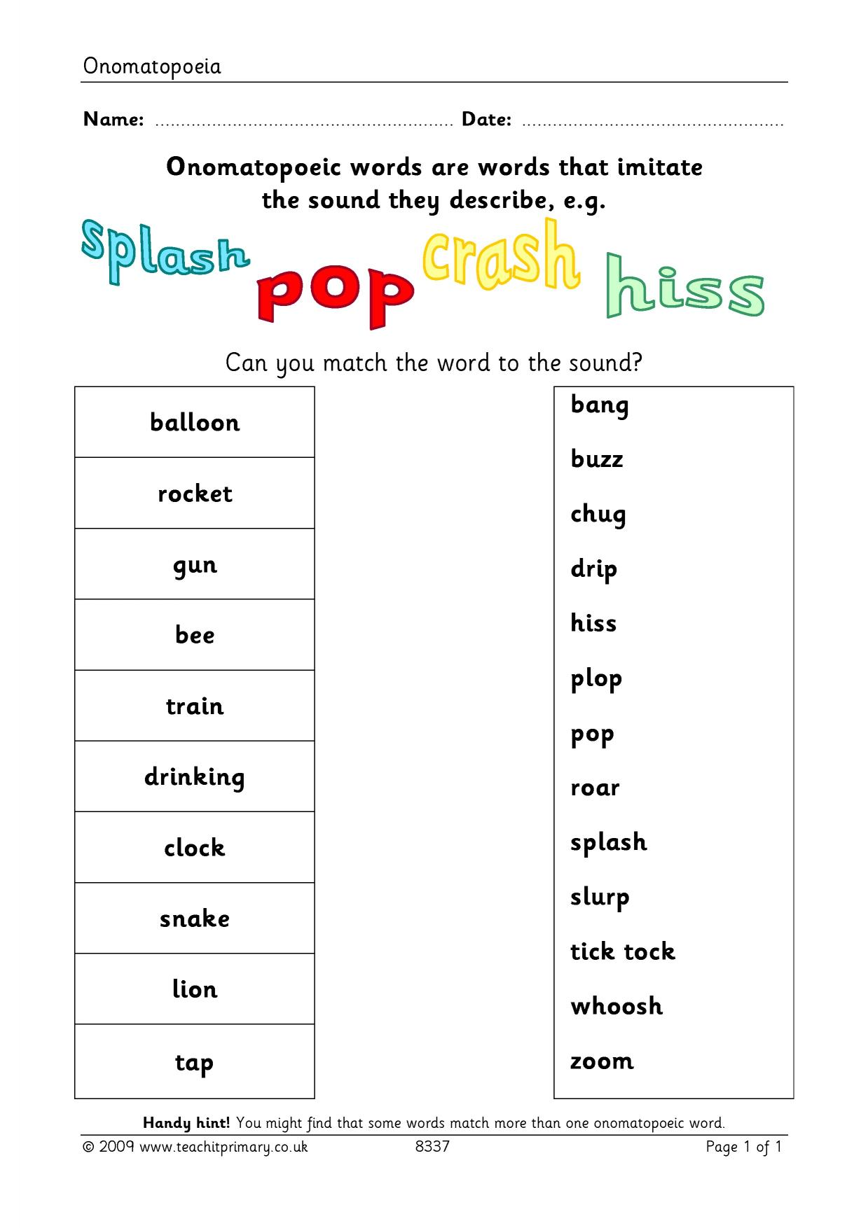 - 18+ Year 1 English Worksheets Printable Uk Picture Download