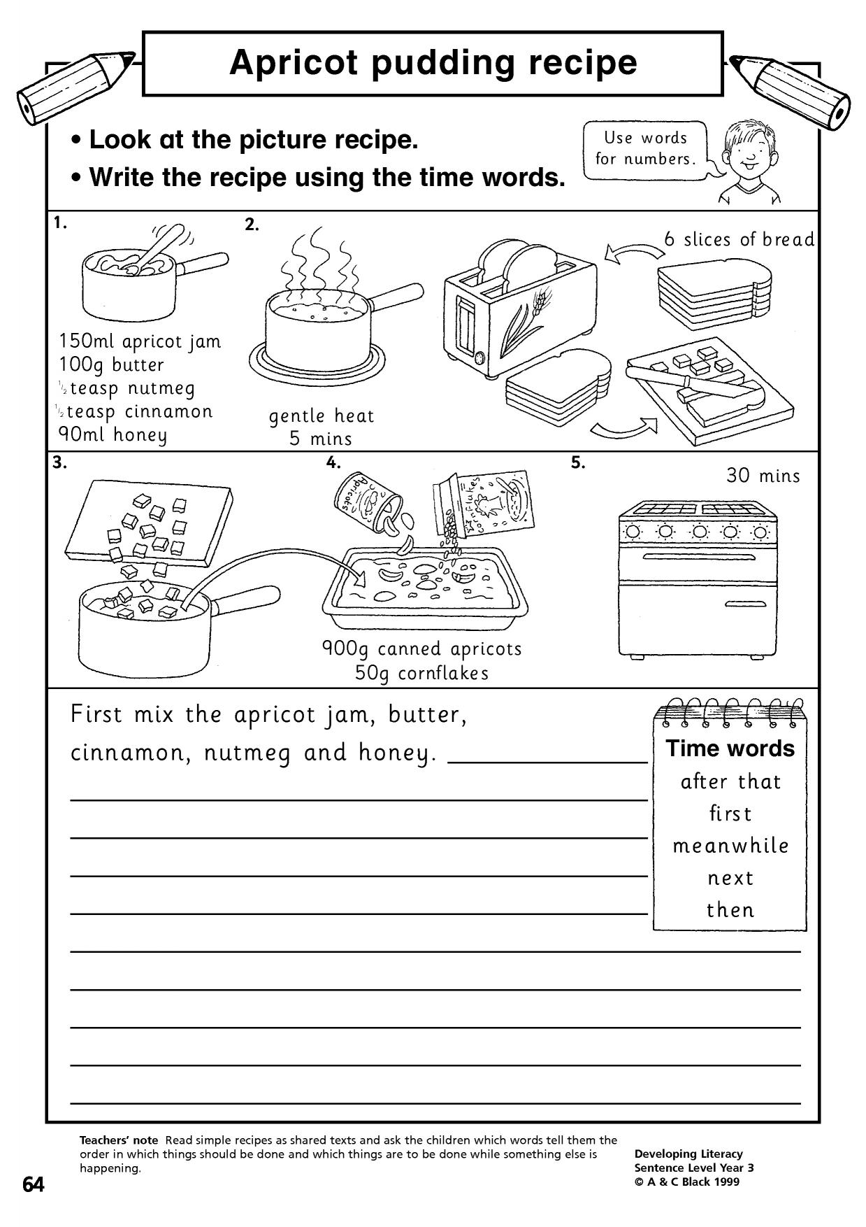 Dictionary Entry Worksheet Grade 2