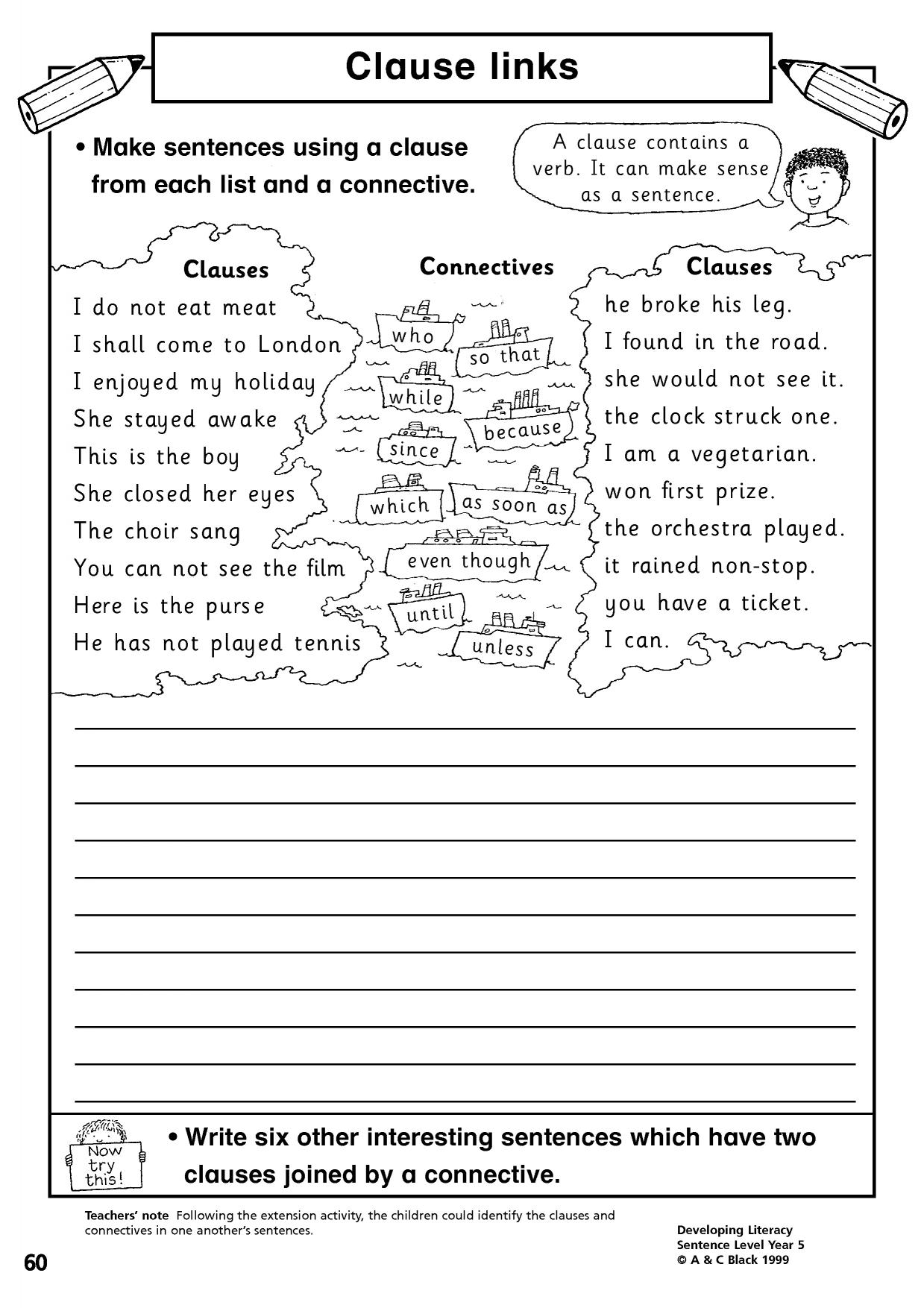 10 Trends For Types Of Sentences Worksheet Ks2