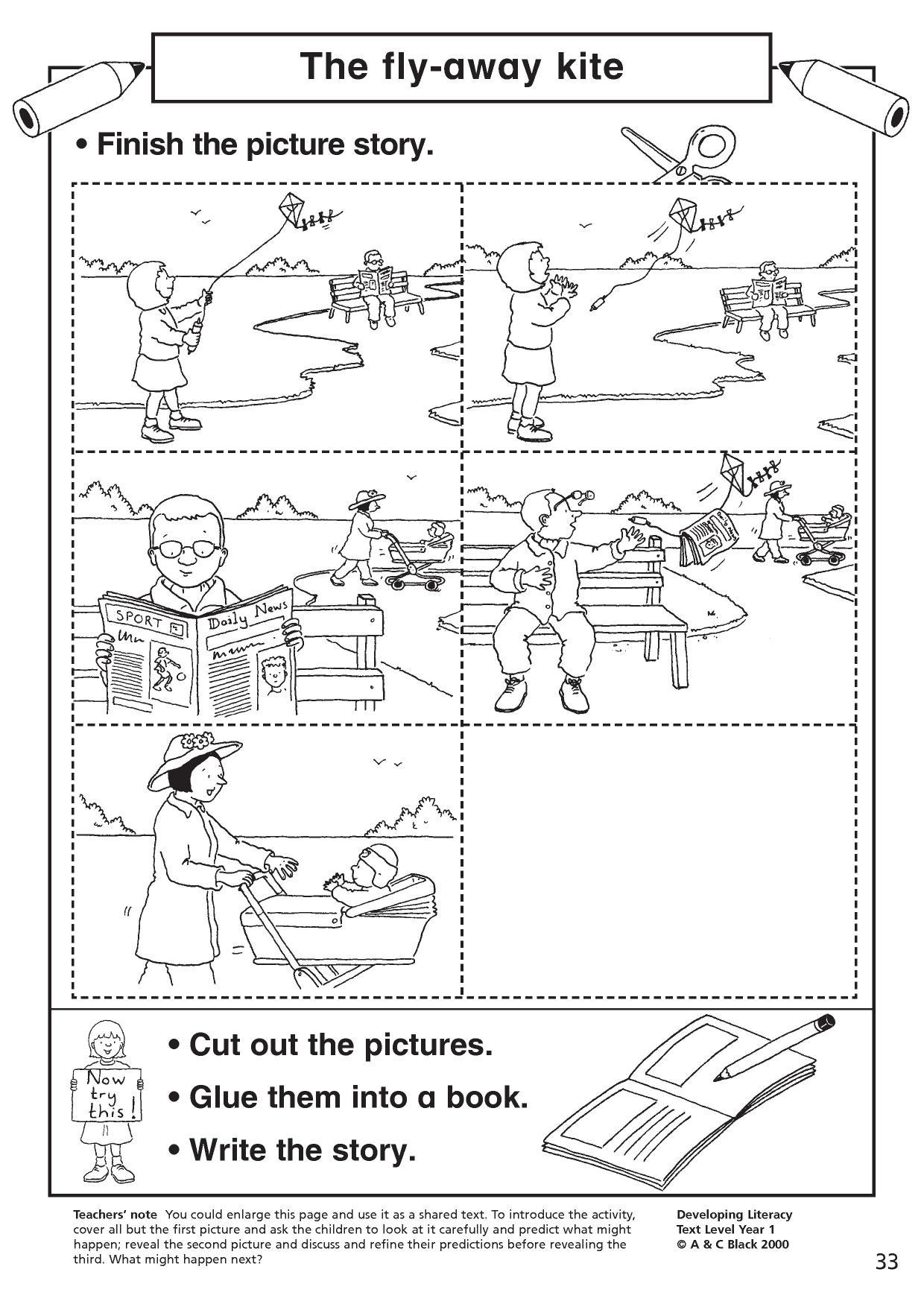 Prediction Worksheet For 1st Grade