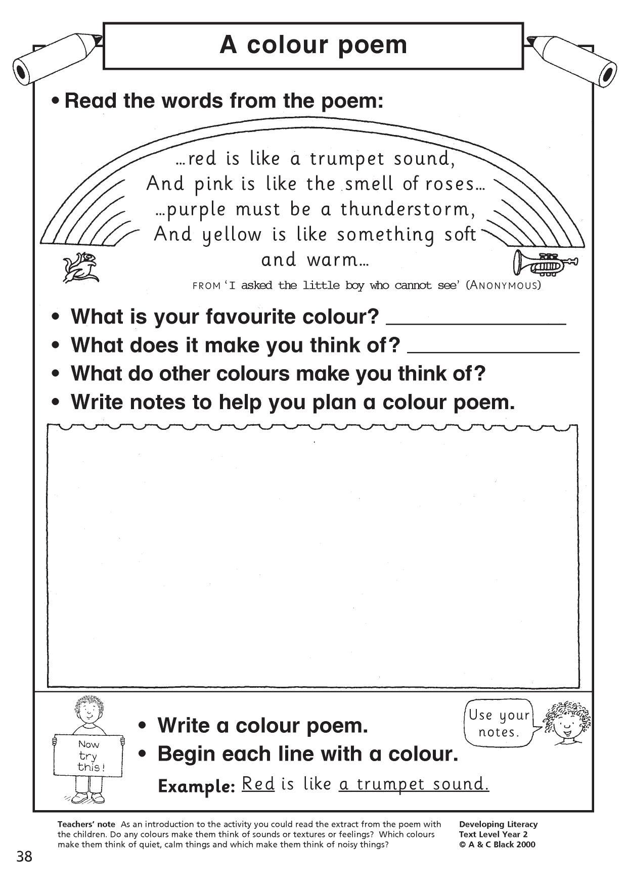 Christmas Syllables Worksheet