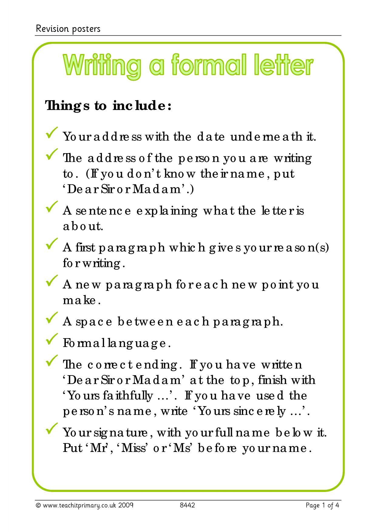 Letter Worksheet Ks2