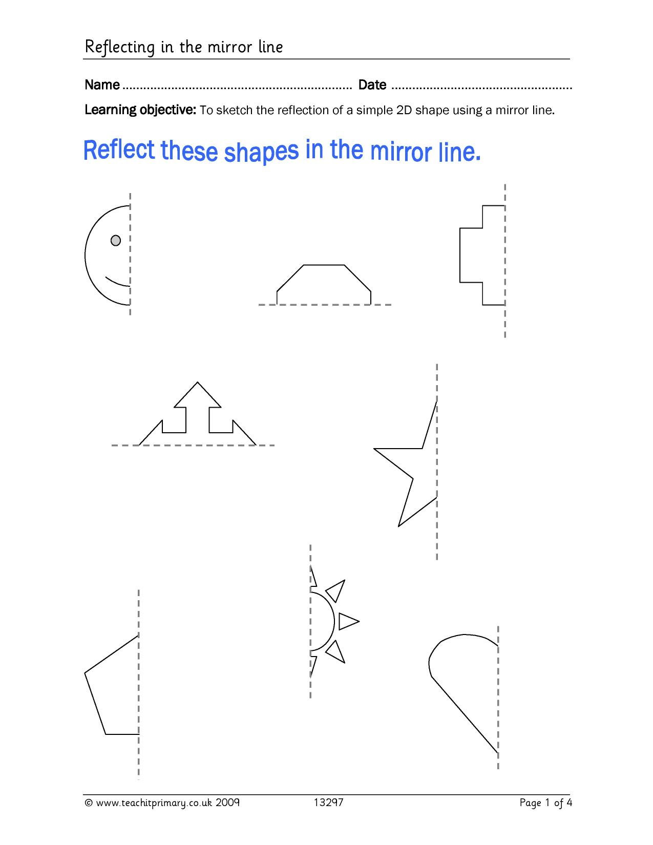 Properties Of Shapes Symmetry