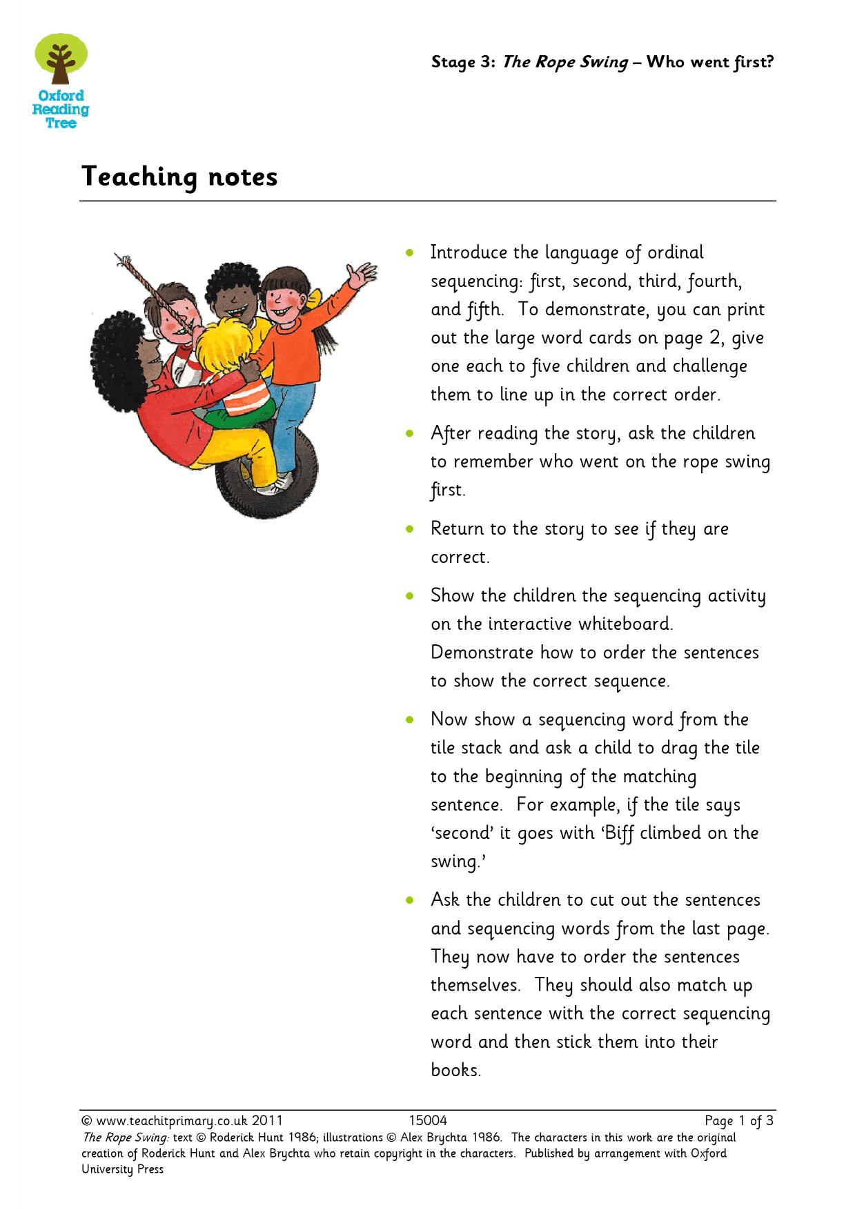 Story Settings Ks1