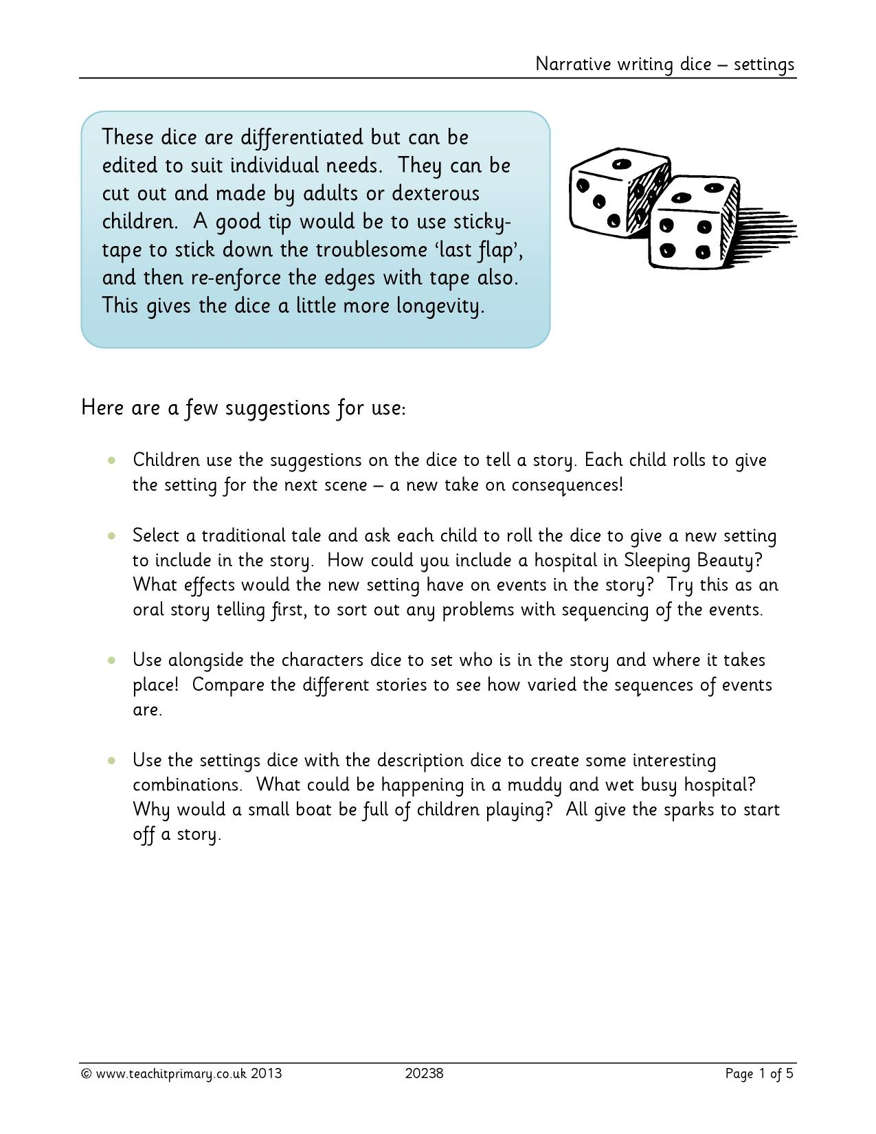 Descriptive Writing Activities Ks1 Maths