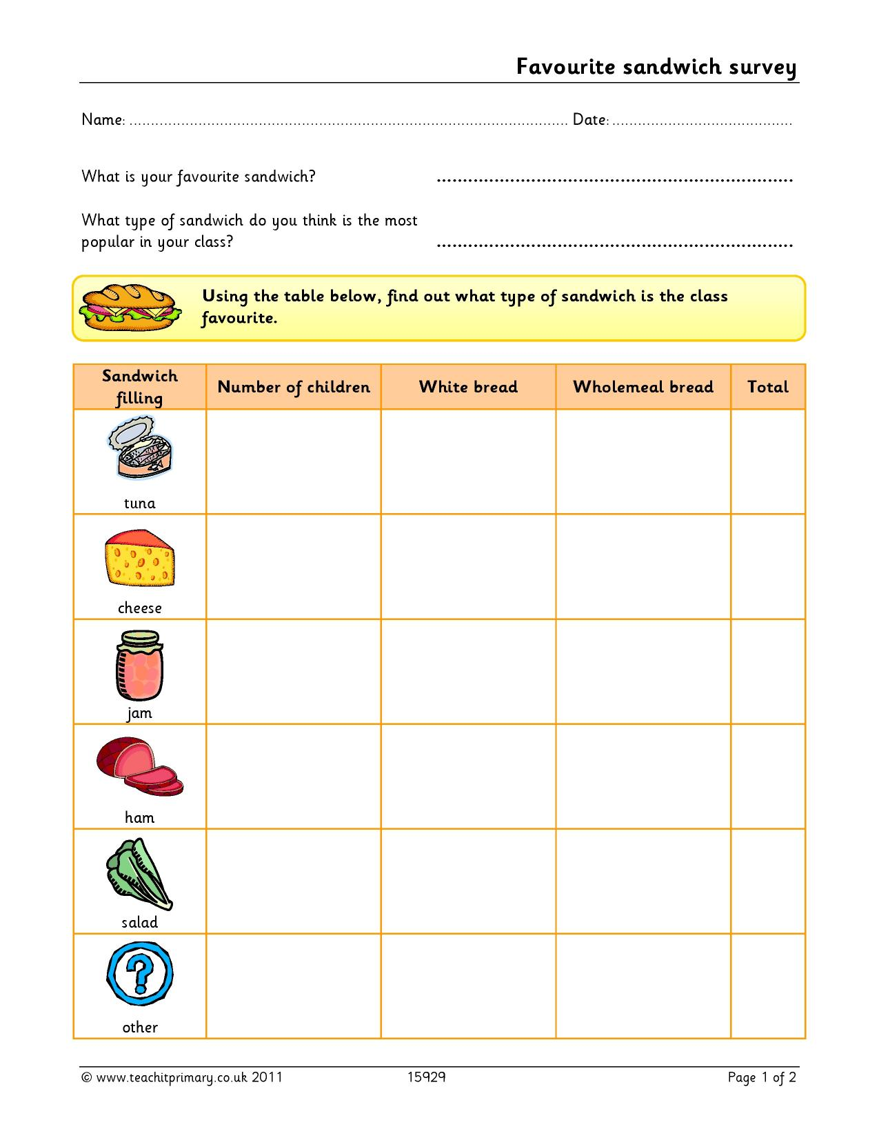 Data Handling Ict Resources Ideal For Maths Teaching On