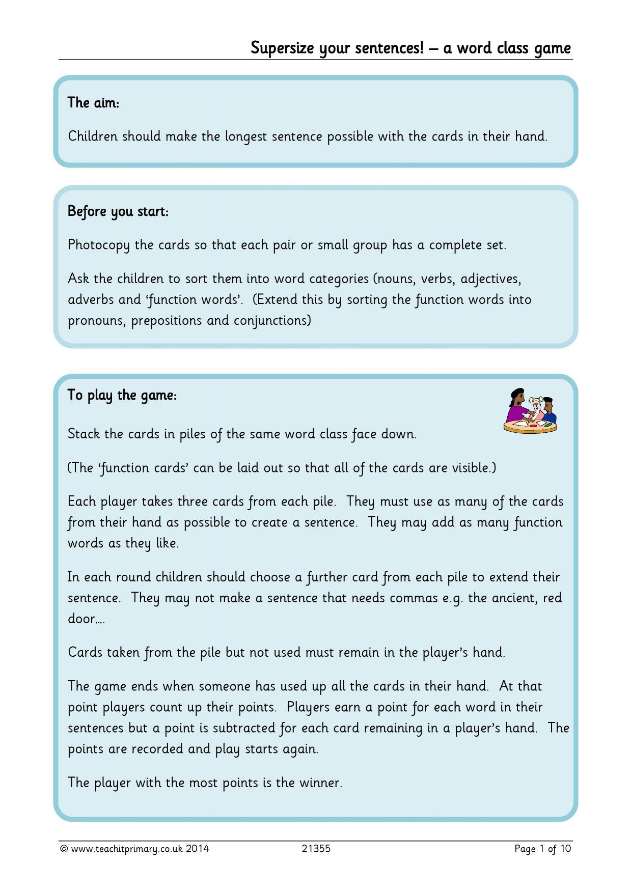 Verbs Worksheet Ks2