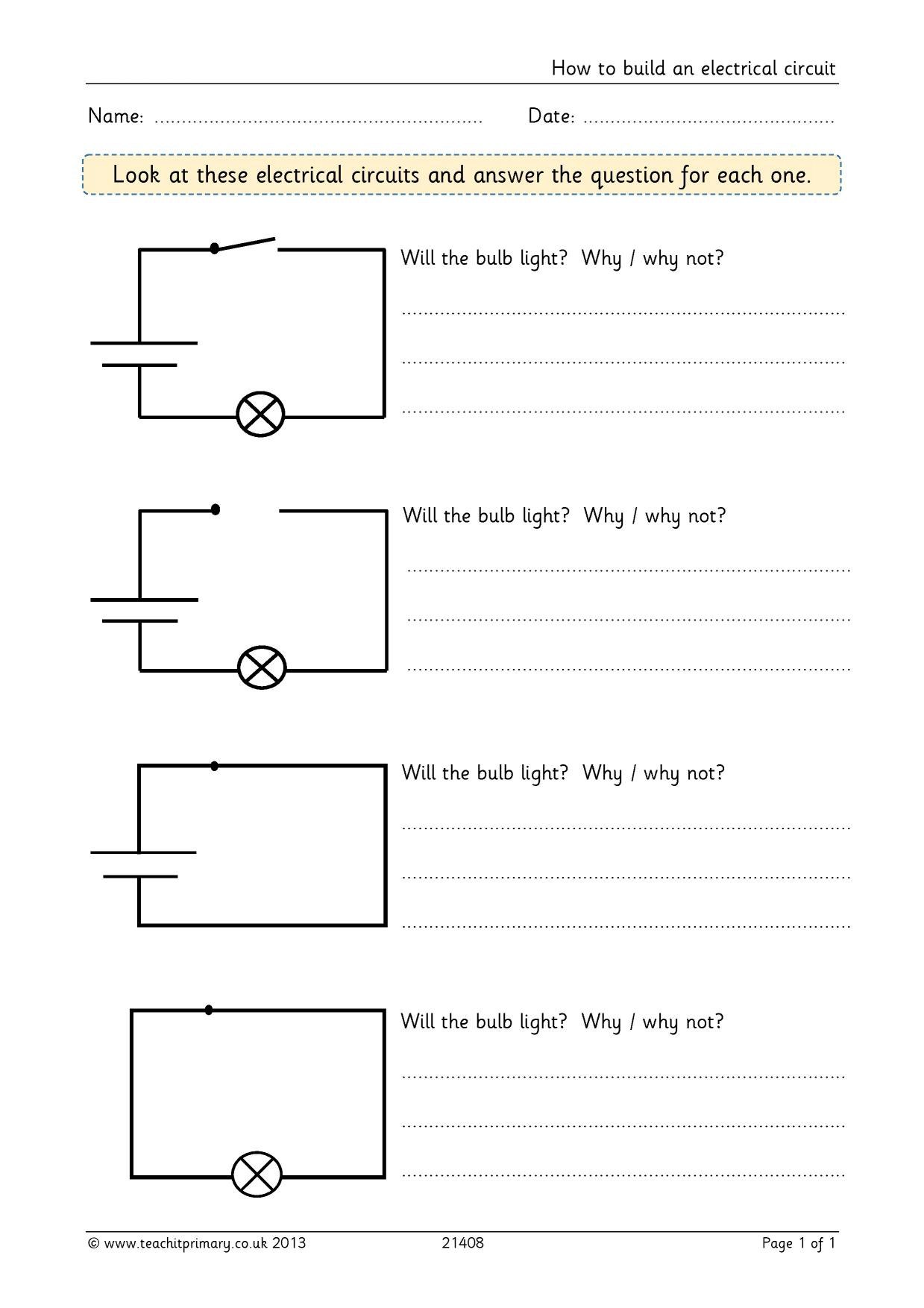 Super Scientists Worksheet Answers