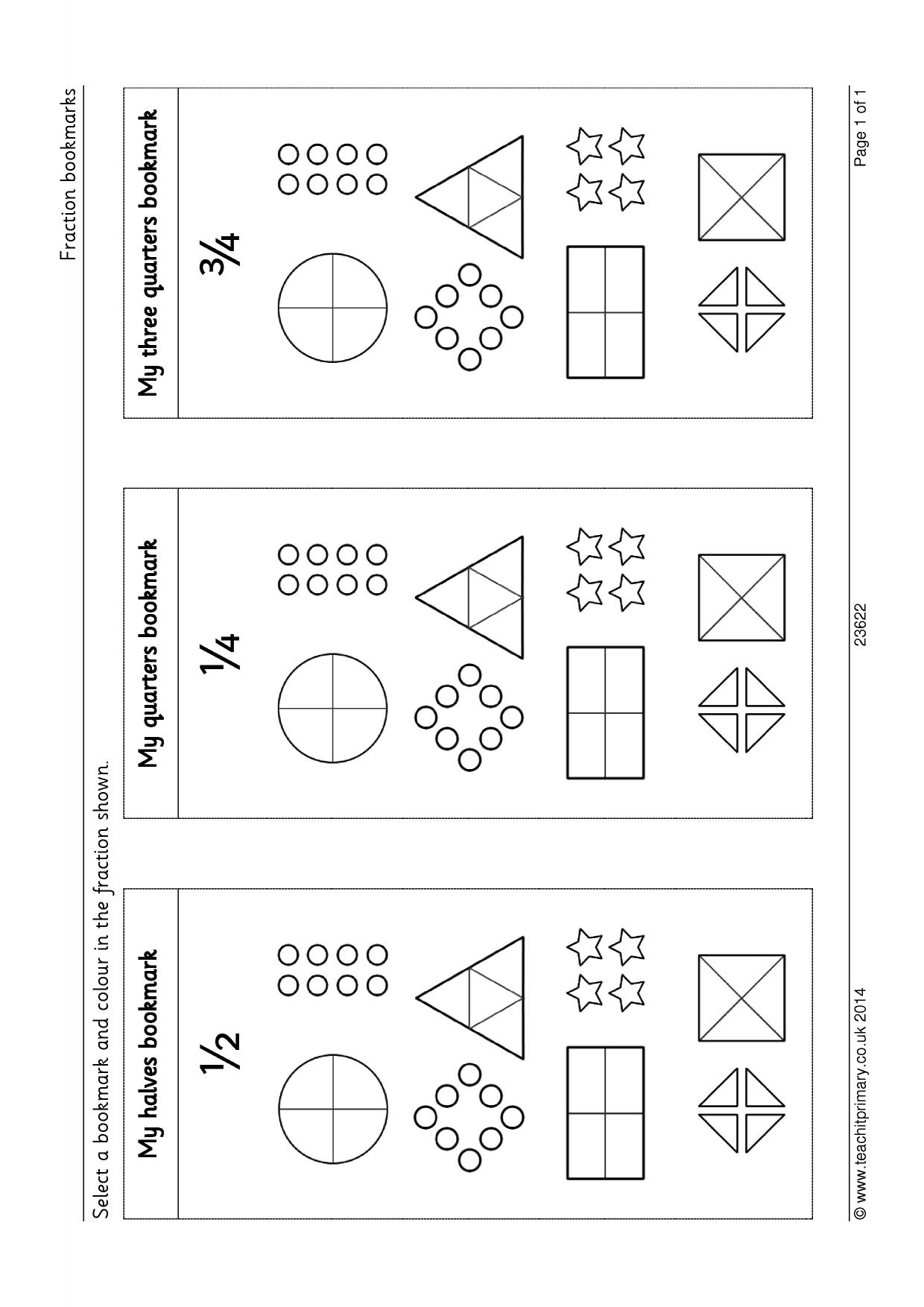 Fractions Of Amounts Worksheet