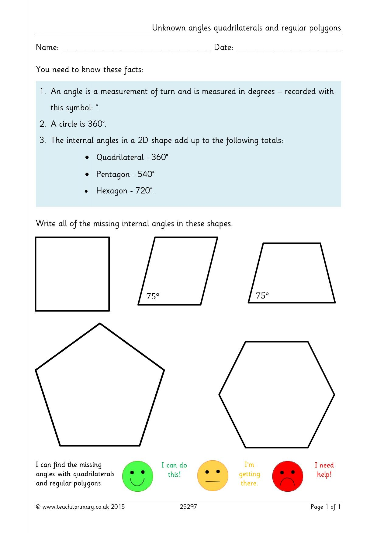 56 Quadrilateral Learning Games