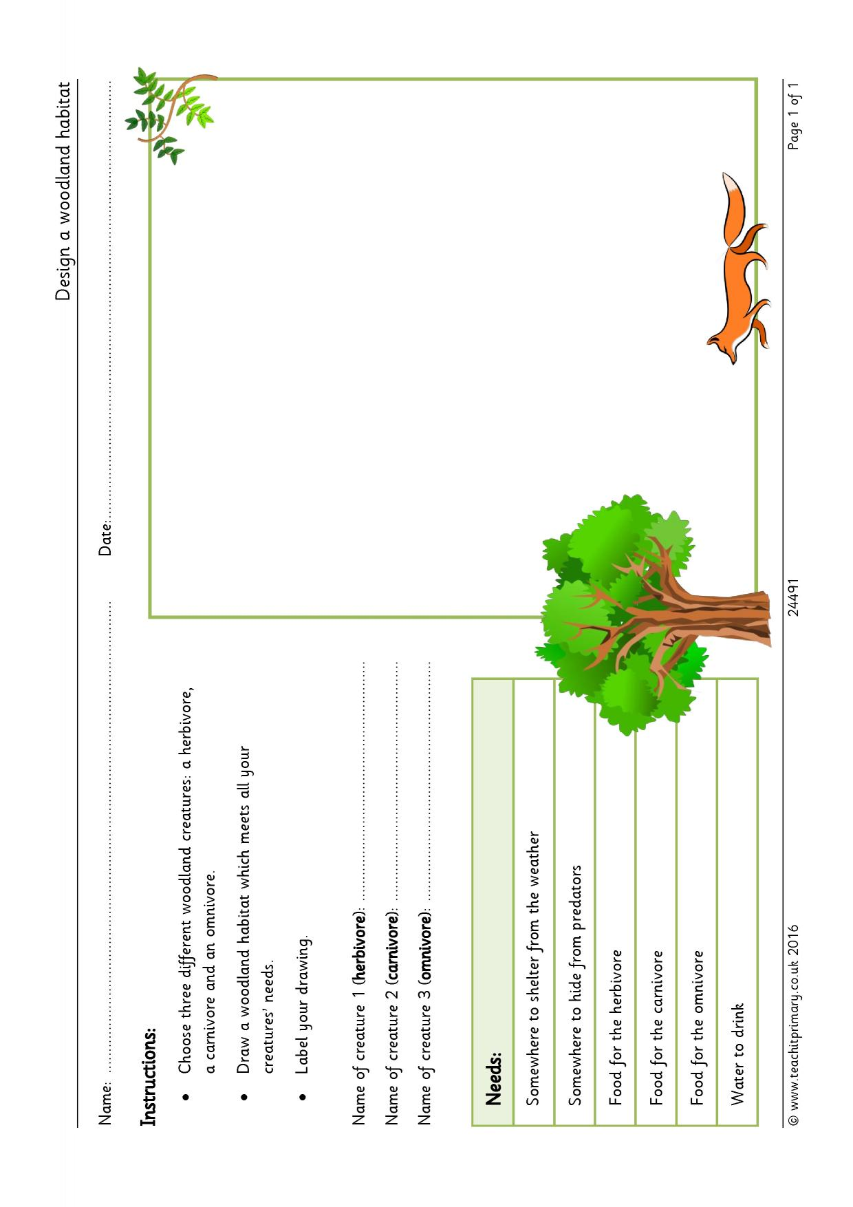 Worksheet Habitat Worksheets Grass Fedjp Worksheet Study