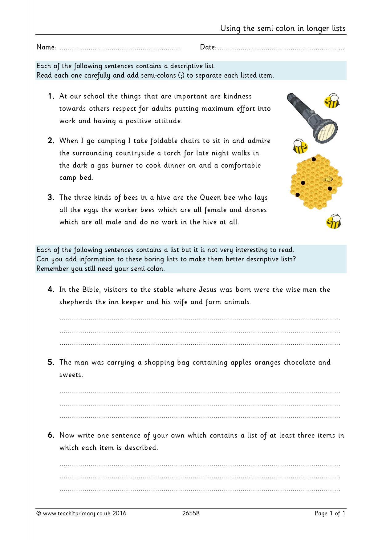 Worksheet Colon Worksheet Grass Fedjp Worksheet Study Site